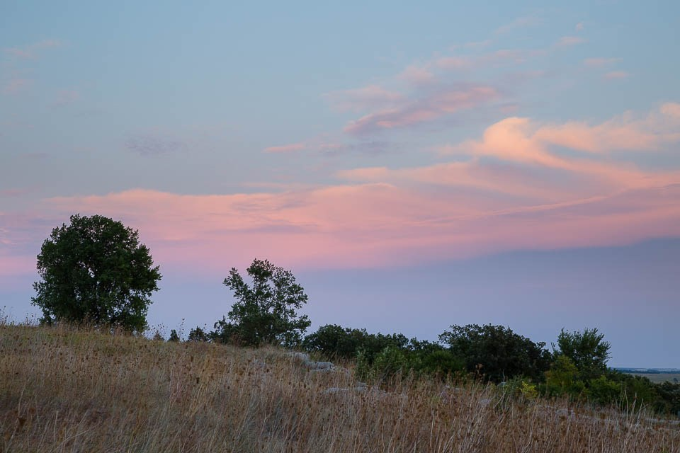 Pastel Clouds on the Prairie