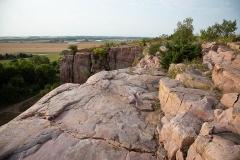 Quartzite Cliffs