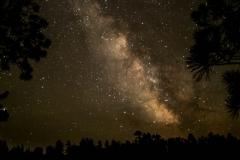 Milky Way over Alton Lake