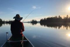 Fishing on Alton Lake
