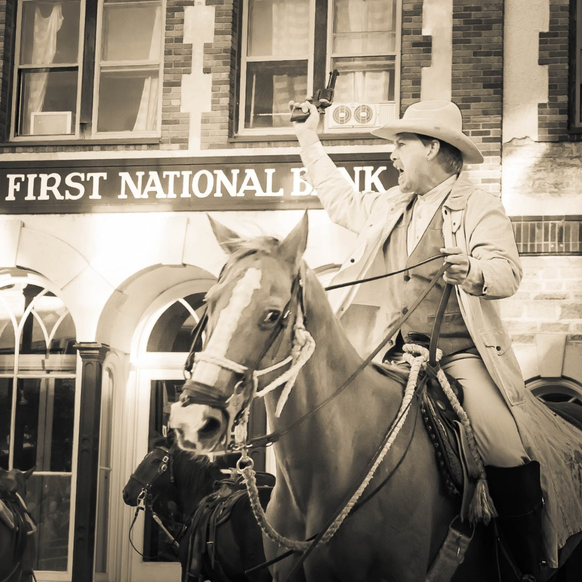 First National Bank Robbery