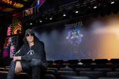 Criss Angel, Las Vegas, in the auditorium of his MindFreak Show.
