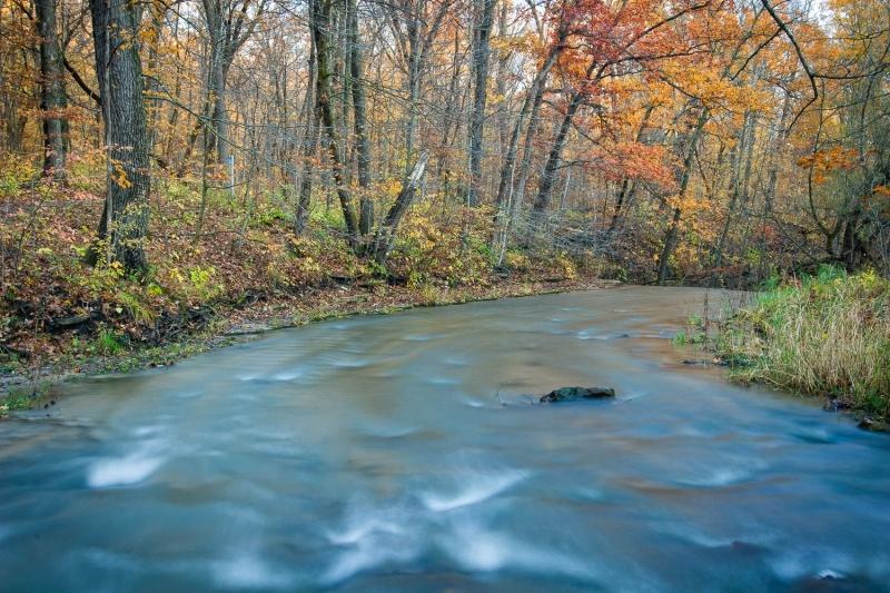 Hidden Creek in October 2
