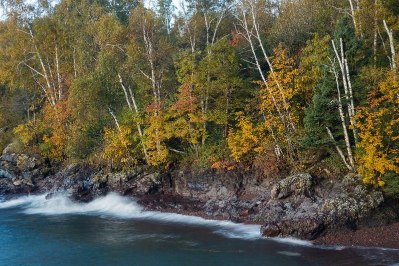 Fall on Lake Superior