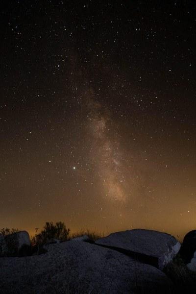 Milky Way Touch the Sky Prairie