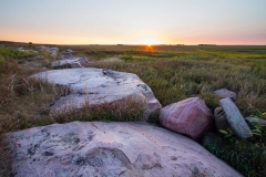 Quartzite and Sunrise