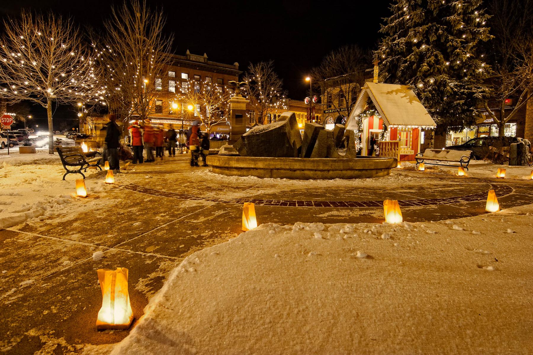 Winter Walk Luminaries